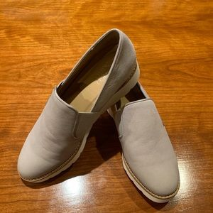 Wedged loafers